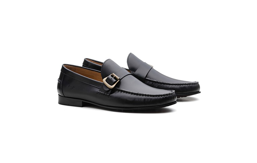 Mocassim Loafer 19AT11 Preto