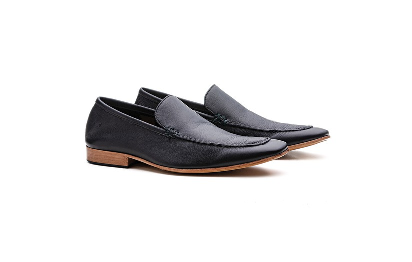 Mocassim Loafer 19PD10 Preto