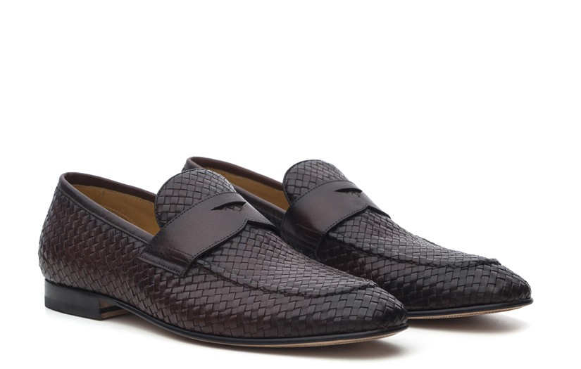 Sapato Social Masculino Loafer James Tabaco