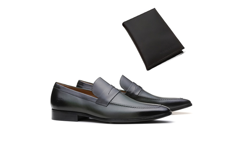 Mocassim Loafer 18NW49 Musgo