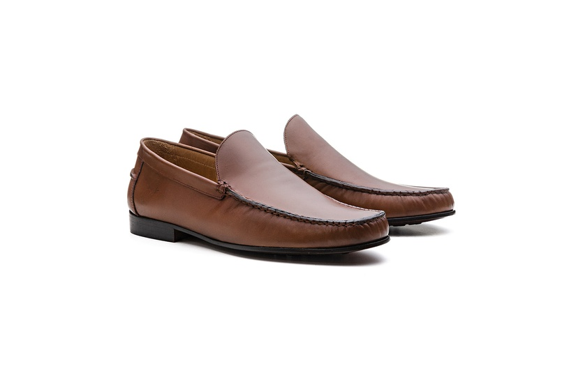 Mocassim Loafer 19AT14 Tabaco