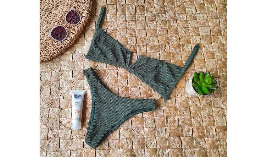 Conjunto Ibiza Drape Verde Musgo