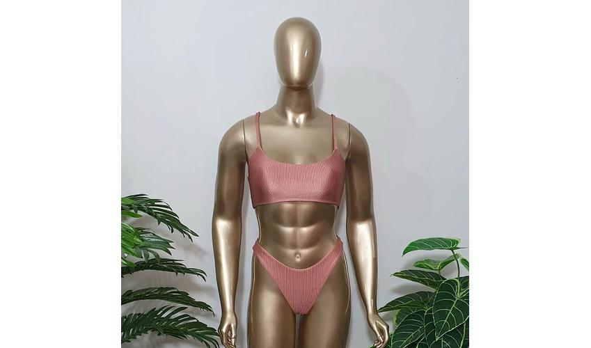 Conjunto Antonella Canelado Nude