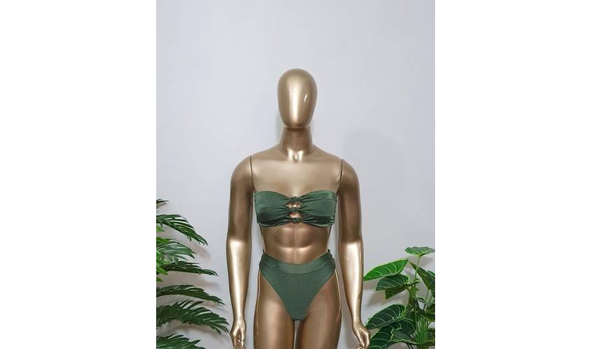 Conjunto Noronha Verde Musgo ( Trilobal )