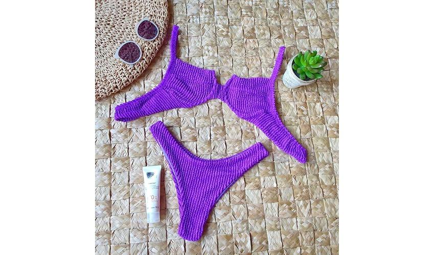 Conjunto Bahamas Violeta ( Mônaco )