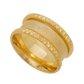Aliança Individual Casamento de Ouro 18k Com 9,4mm