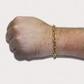Pulseira De Ouro 18k Cartie De 5,0mm Com 19cm