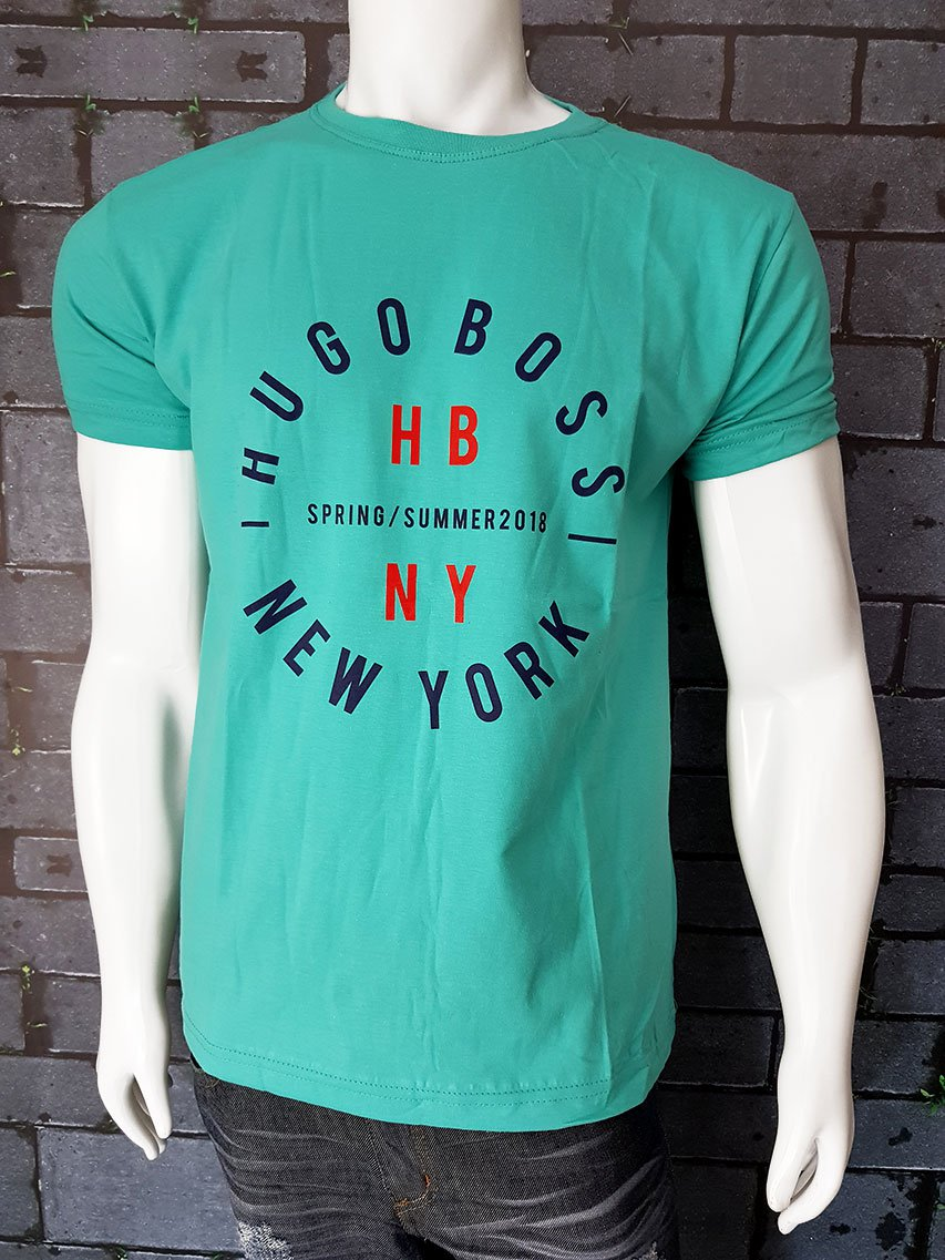 Camiseta Hugo Boss verde