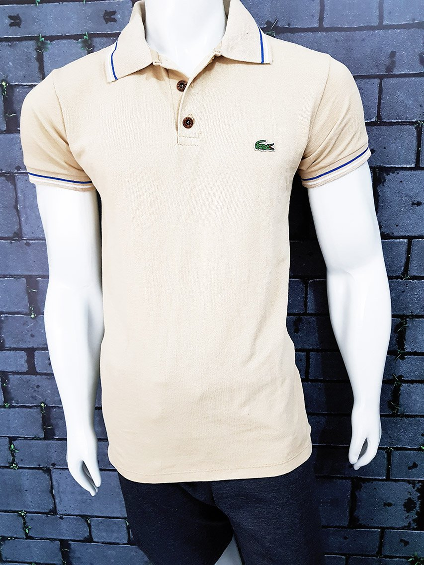 Polo Lacoste Bege