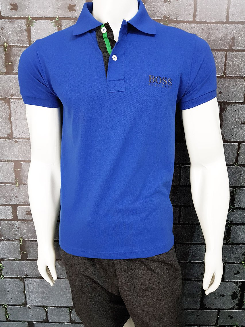 Polo Hugo Boss azul