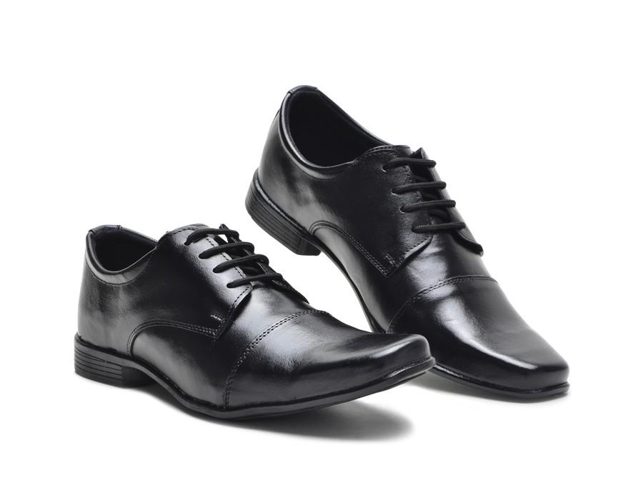 Sapato Social de Amarrar Bico Alongado
