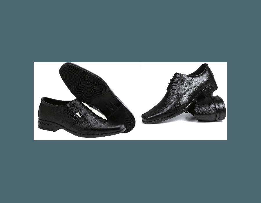 Kit 2 Pares de Sapato Masculino