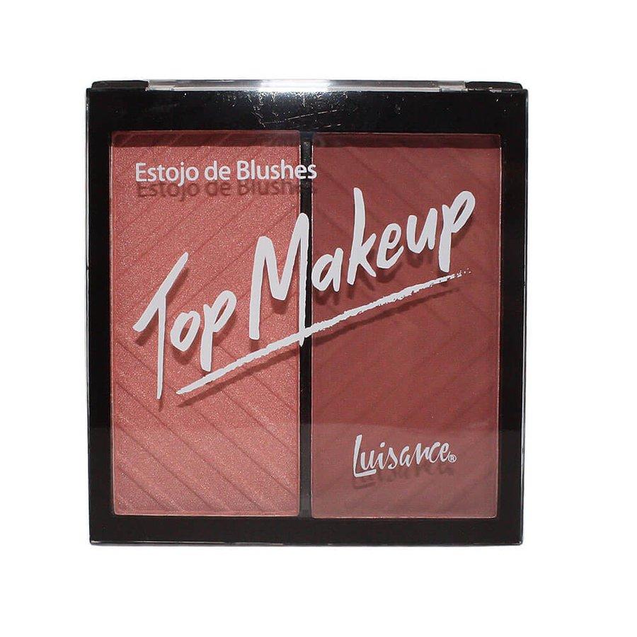 Estojo de Blushes Top Makeup Luisance B *