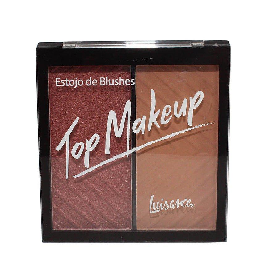 Estojo de Blushes Top Makeup Luisance C *