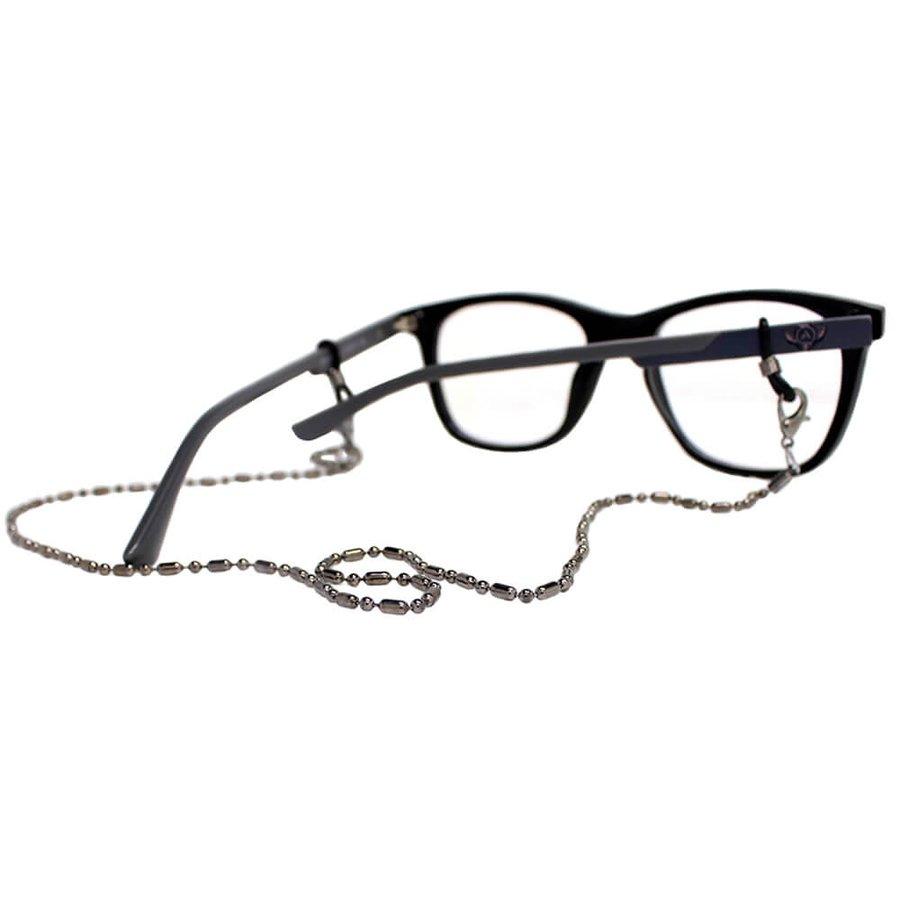Cordão para Óculos Correntinha Fina Grafite