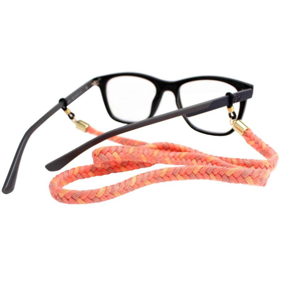Cordão para Óculos Trancinha Rosa