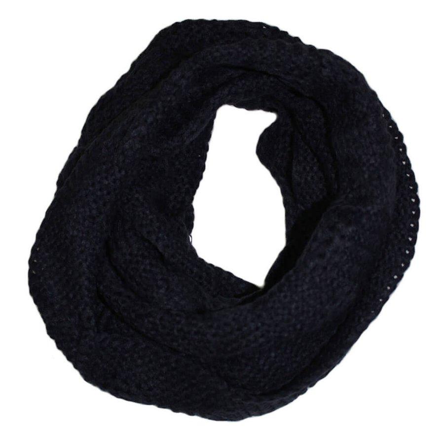 Cachecol Gola Crochet Azul