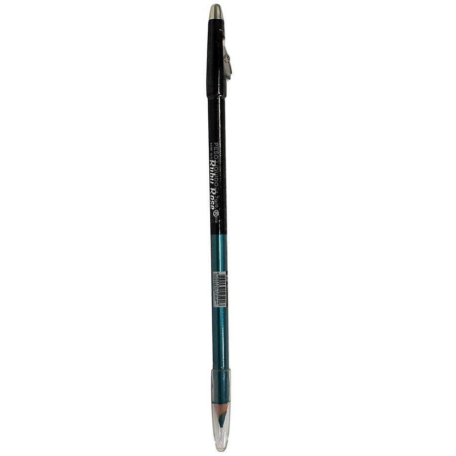 Lápis de Olhos e Lápis Labial com Apontador (2 em 1) Azul Escuro 43 Ruby Rose *