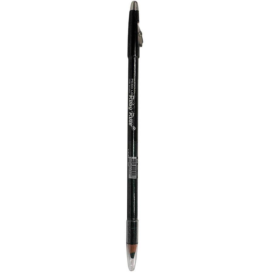Lápis de Olhos e Lápis Labial com Apontador (2 em 1) Verde 48 Ruby Rose *