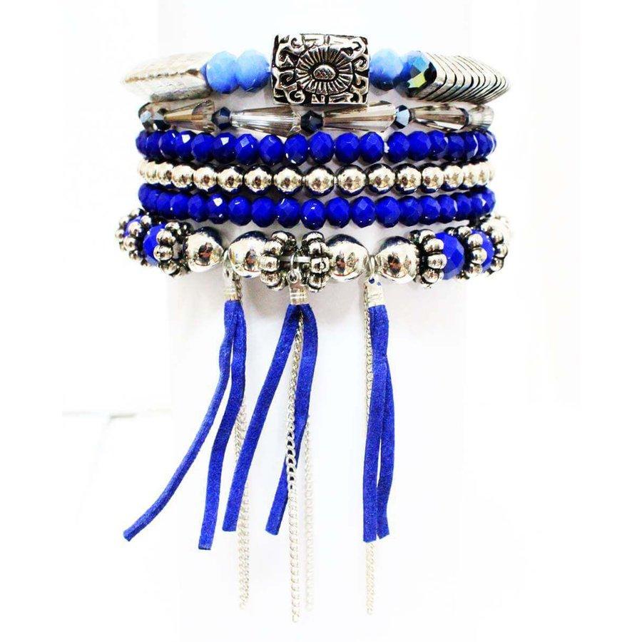 Pulseira Kit Namaste Azul