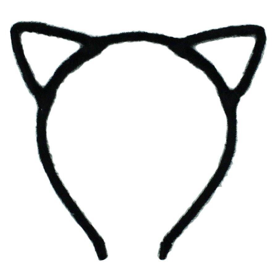 Tiara Miau Preto