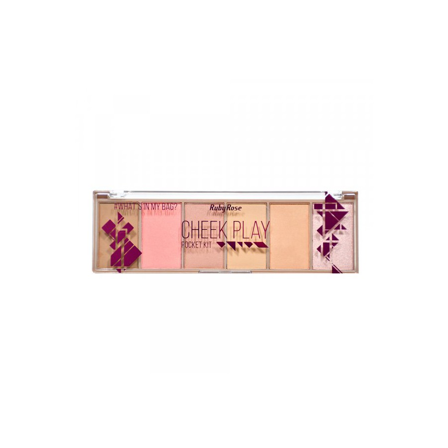 Paleta Pocket Cheek Play Ruby Rose *