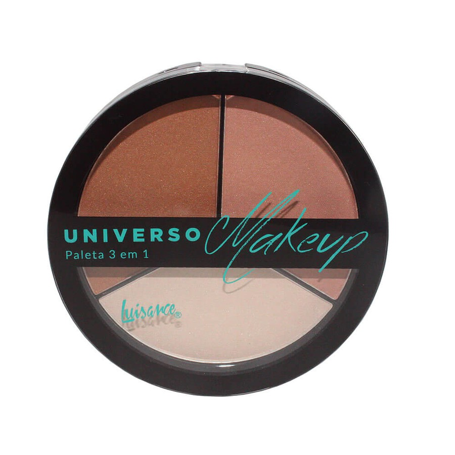 Paleta 3 em 1 Universo Makeup Luisance A *