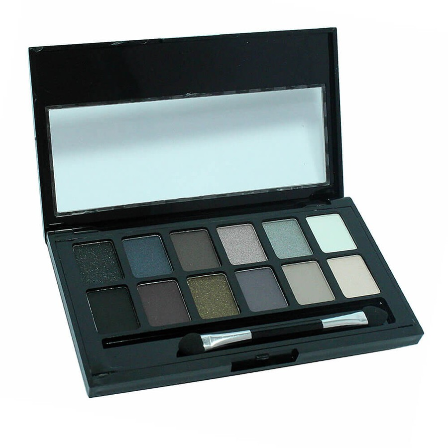 Paleta de Sombras Wonderful Girl Luisance 12 cores B *