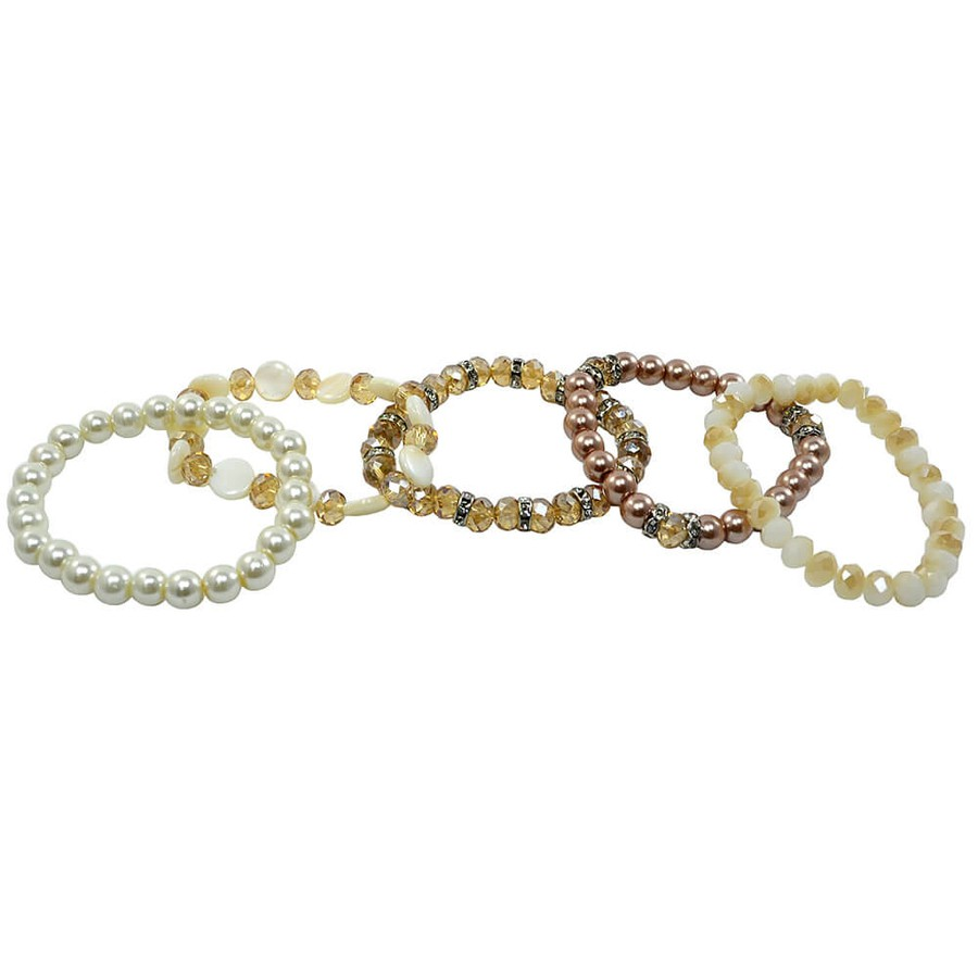 Pulseira Kit Paty Champagne
