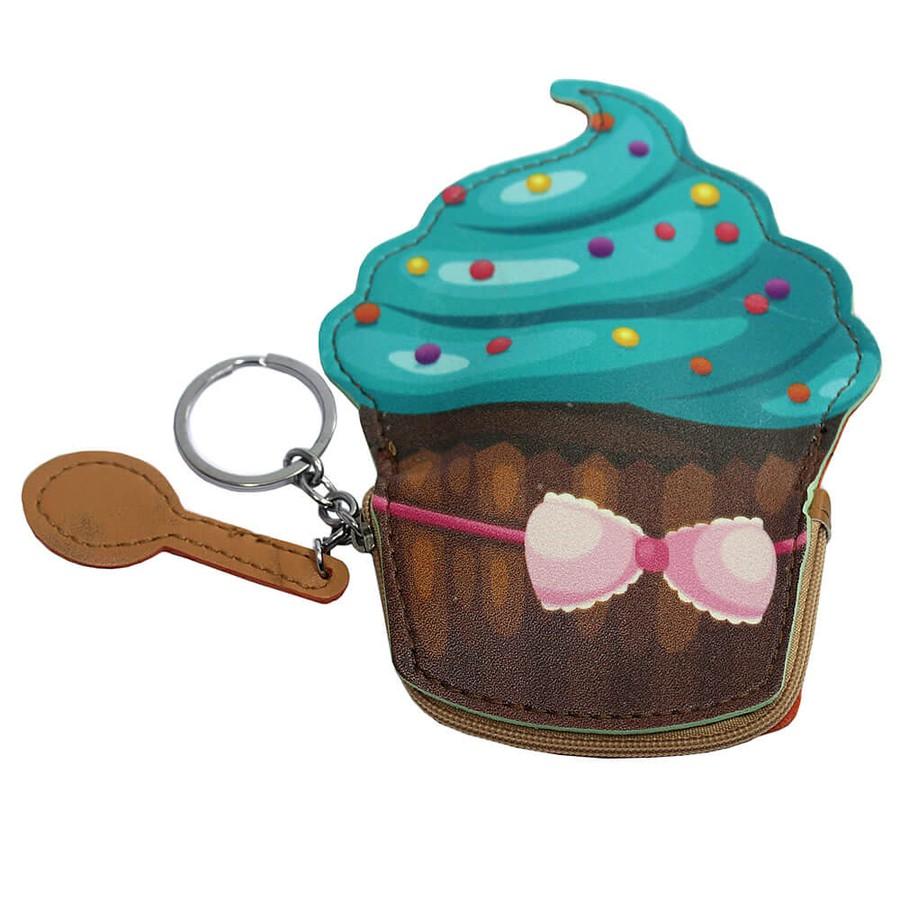 Chaveiro Porta Moeda Cupcake