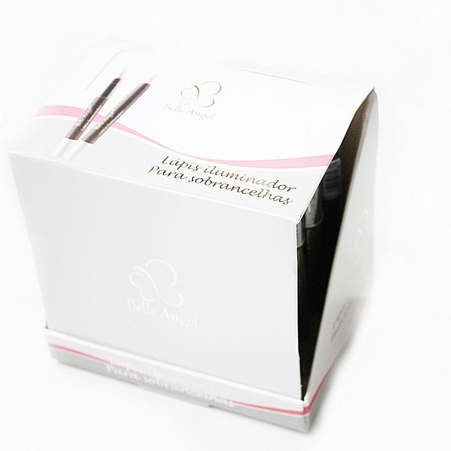 Lápis Iluminador Para Sobrancelhas Belle Angel Display com 24 unidades *