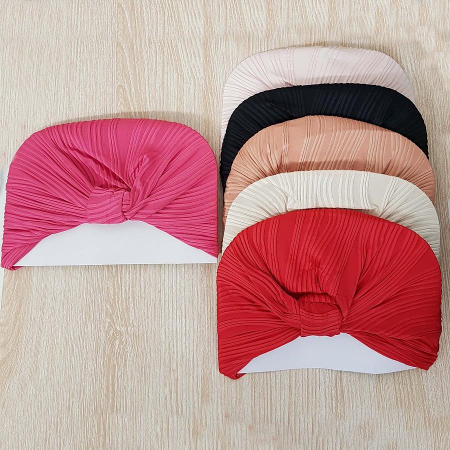 Dúzia De Turbantes De Cabelo Coloridos