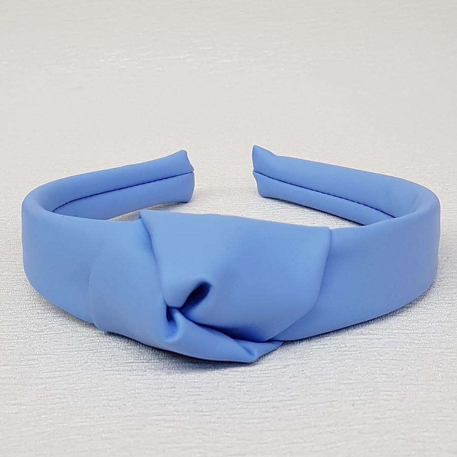 Tiara De Nó Courinho Azul Anil