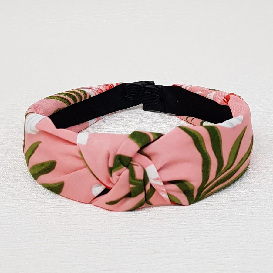 Tiara De Nó Flores Rosa
