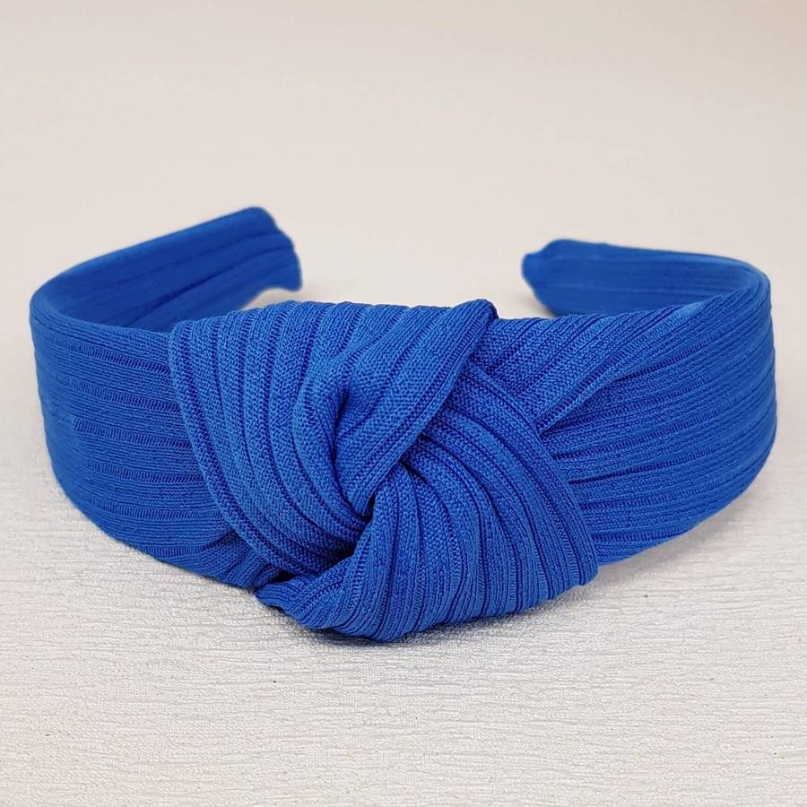 Tiara Canelada Azul