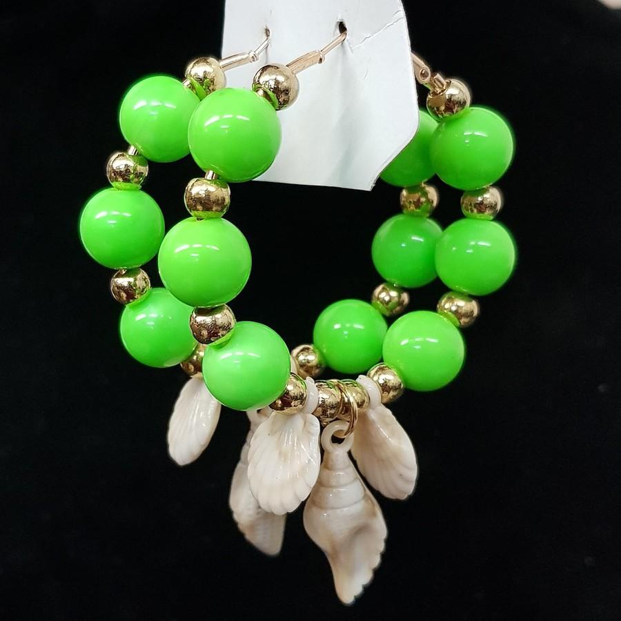 Argola Búzios Verde