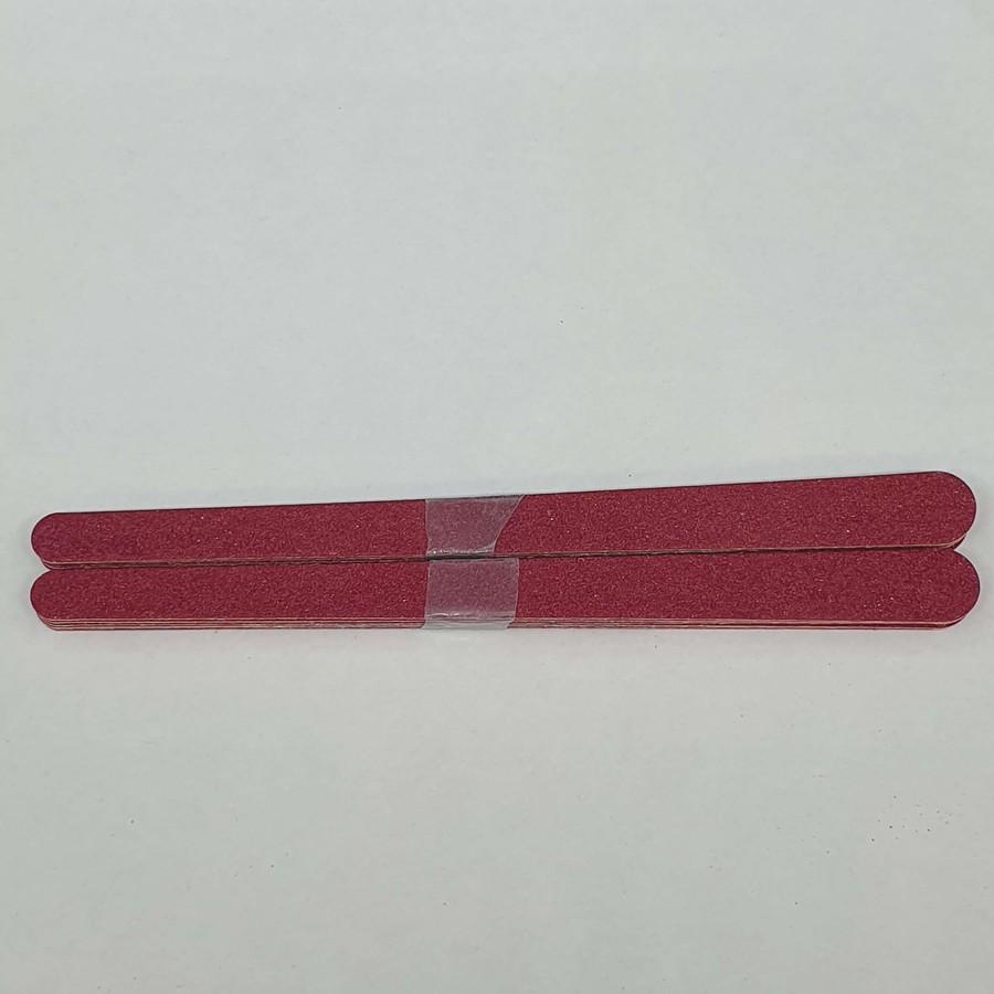 Kit Com 12 De Lixas De Unhas Vermelho