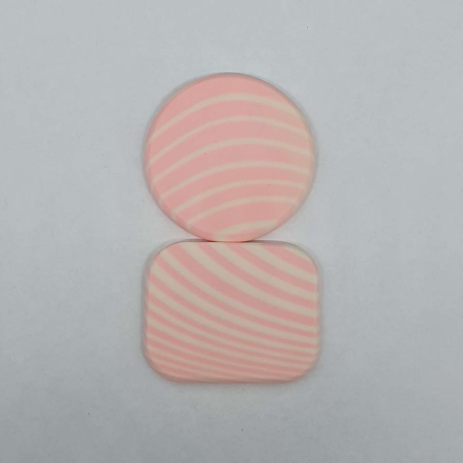 Kit com 2 Esponjas Para Maquiagem Rosa