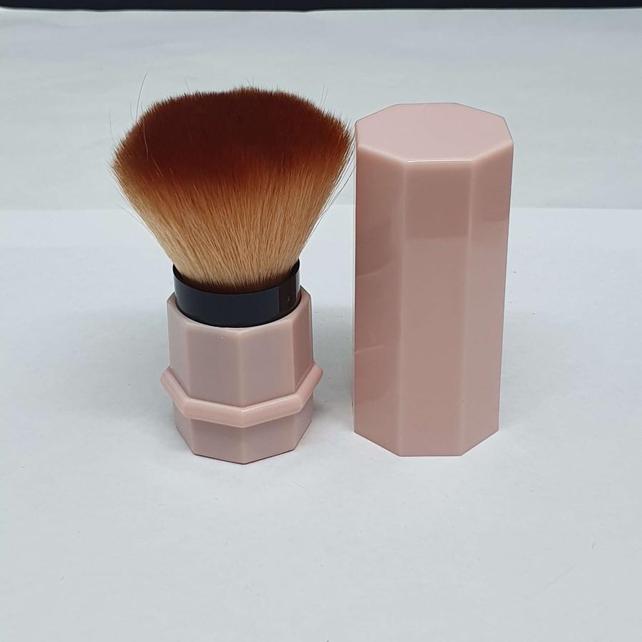 Pincel De Maquiagem Rosa Claro