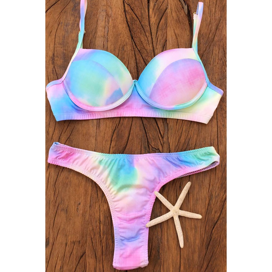 Biquíni Mermaid Tie Dye