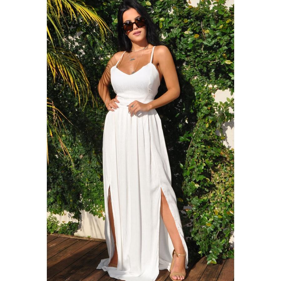 Vestido Longo July Branco