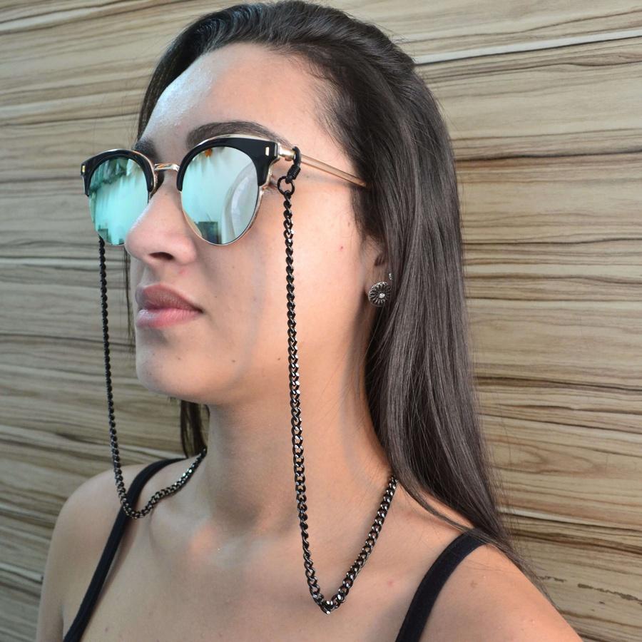 Cordinha de Óculos Corrente Finy Black *