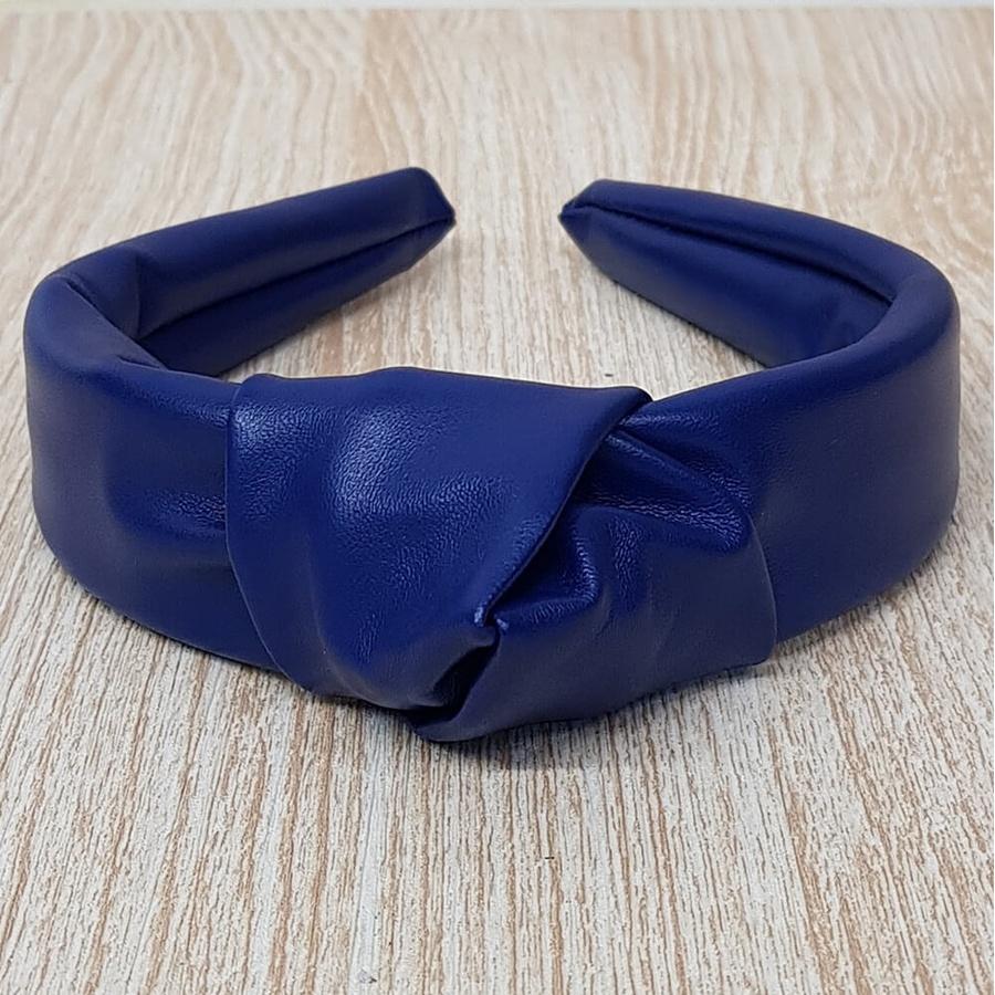 Tiara de Nó Courinho Azul Cobalto