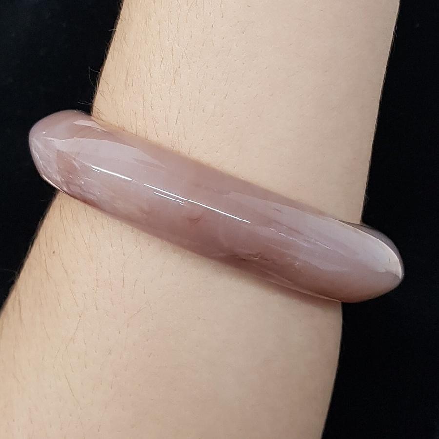 Bracelete Acrílico Mesclado Rosê