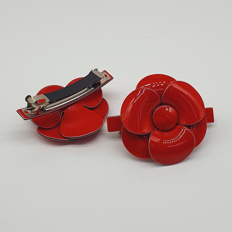 Presilha Flor Vermelha