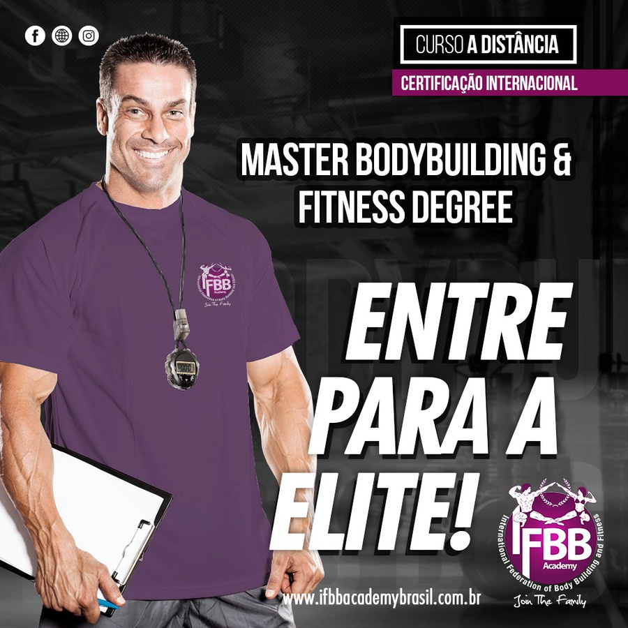 MASTER BODYBUILDING & FITNESS DEGREE