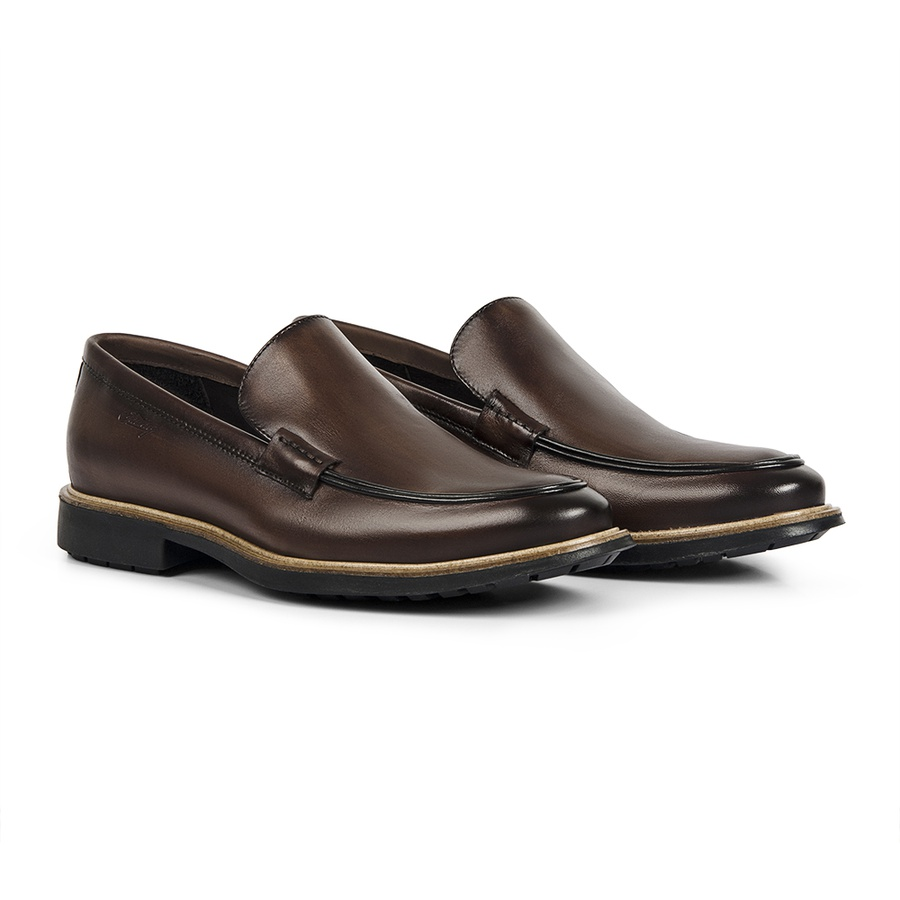 Sapato Masculino Loafer Mold Whisky