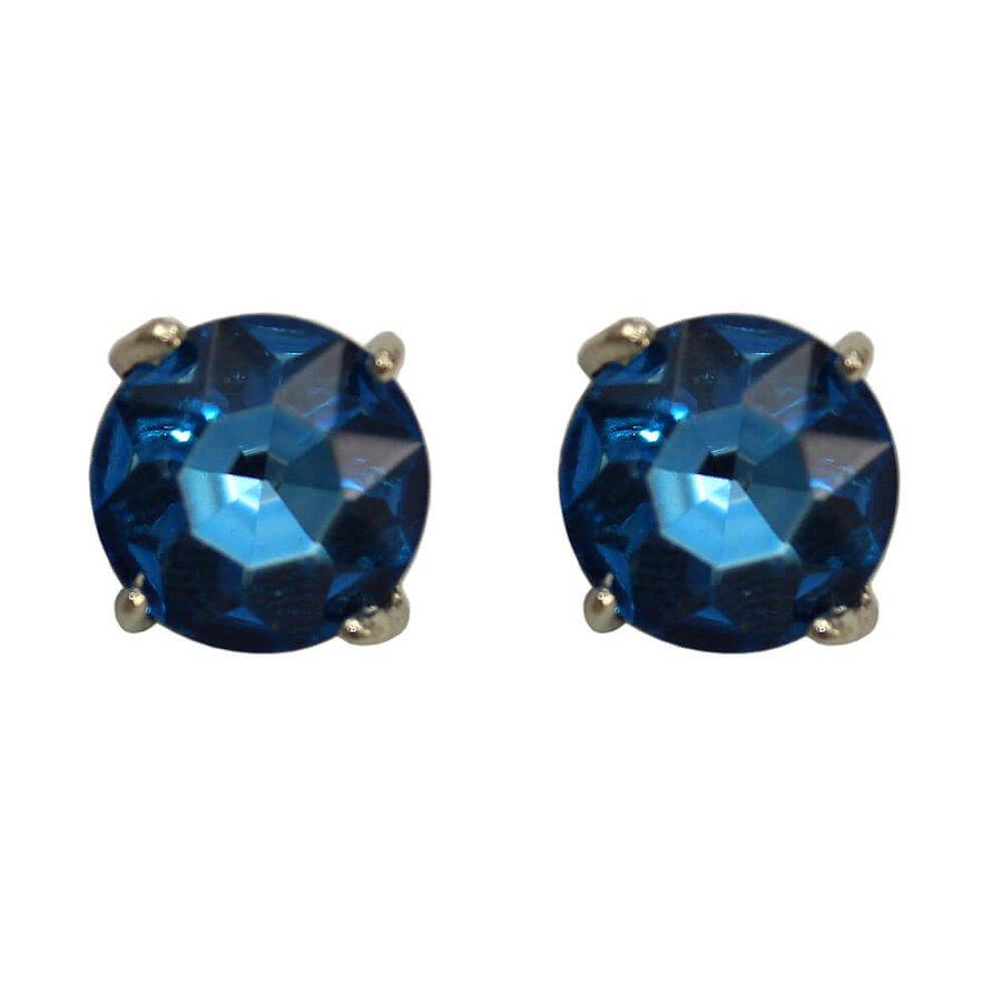 Brinco Marleide Prata Azul *