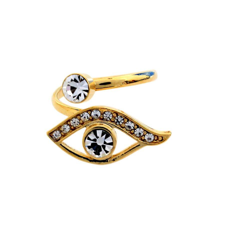 Anel Olho Dourado
