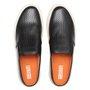 Sapato Masculino Mule Preto de Couro Legítimo
